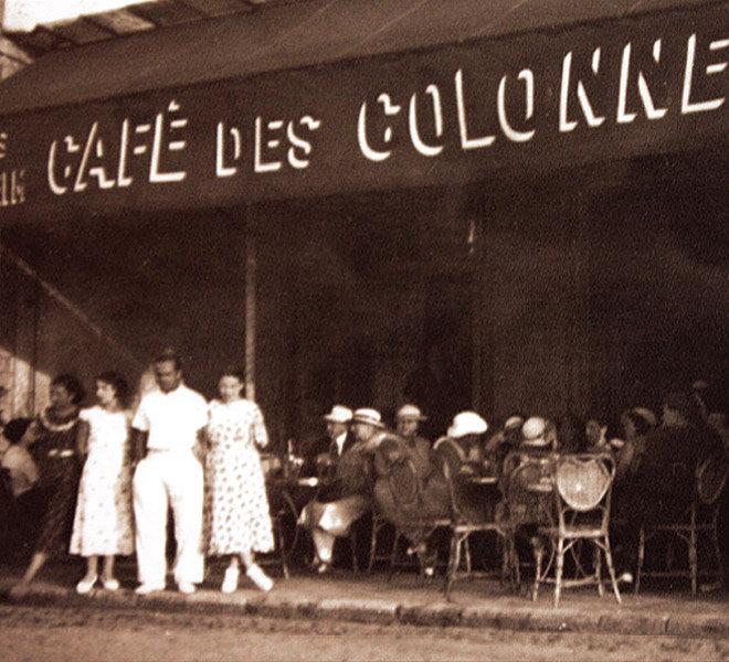 Depuis 1905, séjour et vacances à la mer au port de Saint-Martin-de-Ré à l'Hôtel** Restaurant Crêperie Bar Les Colonnes depuis 1905 sur Ile de Ré